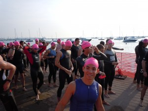Triathlons make me smile!